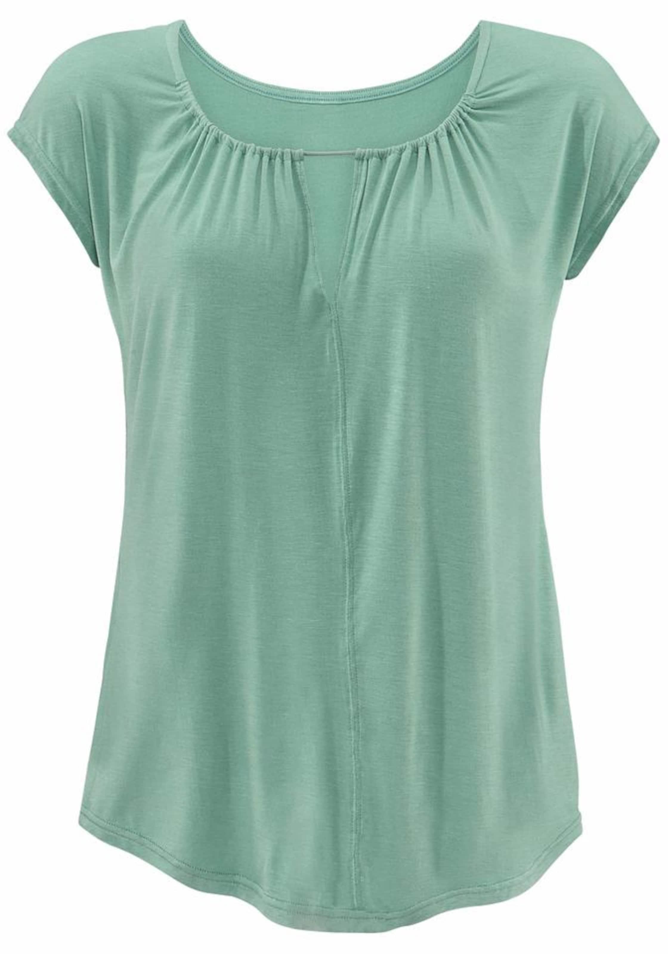 Modestil Billig Verkauf 2018 Unisex LASCANA T-Shirt mit besonderem Ausschnitt Erhalten Verkauf Online Kaufen Mode-Stil Online Spielraum Günstigsten Preis PMjZ7pCaH