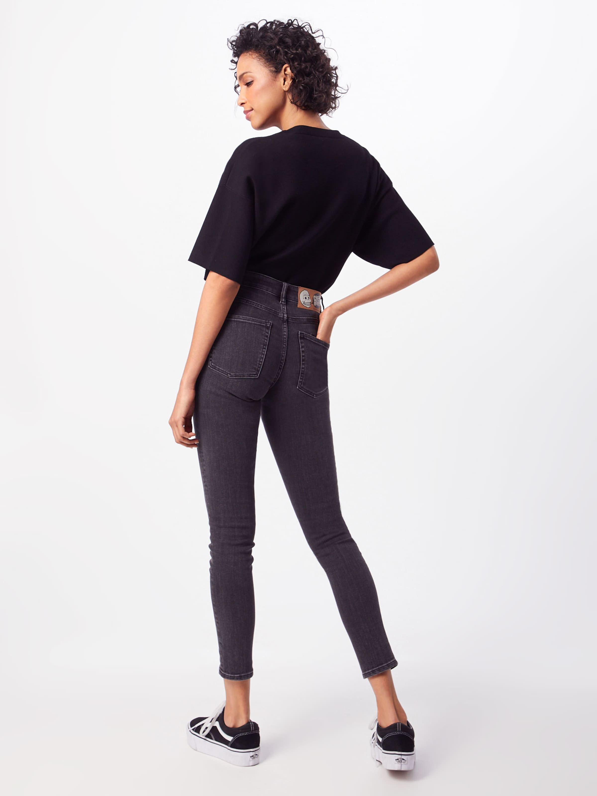 'mid Black Cheap Denim Monday In Jeans Skin' 6Yvbgyf7