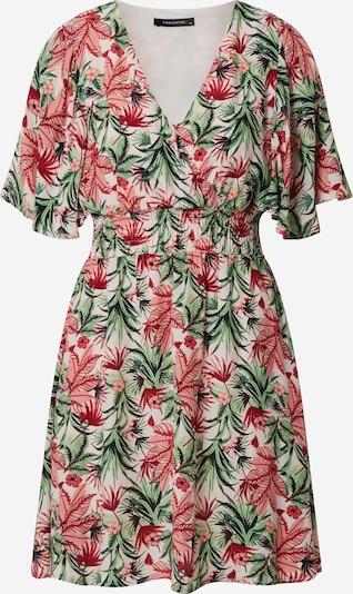 Trendyol Kleid in mint / himbeer / pastellpink / weiß: Frontalansicht