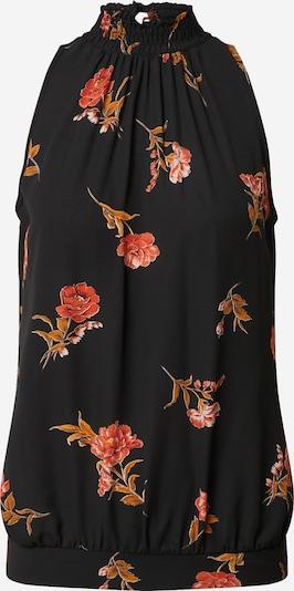 Dorothy Perkins Blusentop in orange / rot / schwarz, Produktansicht