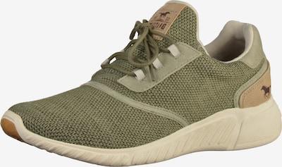 MUSTANG Sneaker in khaki, Produktansicht