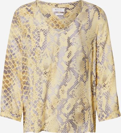 Bluză Rich & Royal pe galben / gri, Vizualizare produs