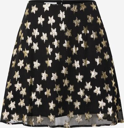Fabienne Chapot Rok 'Lot' in de kleur Goud / Zwart, Productweergave