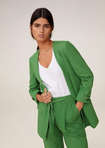 Sacou 'Emma' MANGO pe verde, Vizualizare model