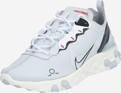 Nike Sportswear Sneaker 'REACT ELEMENT 55' in schwarz / platin / weiß, Produktansicht