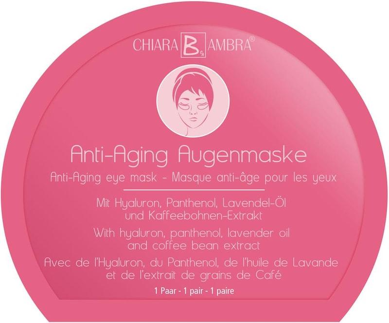 CHIARA AMBRA 'Anti-Aging Vlies-Augenmaske' Augenpflege-Set