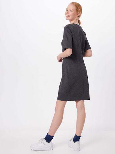 UNITED COLORS OF BENETTON Obleka 'DRESS' | siva barva: Pogled od zadnje strani