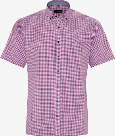 ETERNA Kurzarm Hemd MODERN FIT in pink / weiß, Produktansicht
