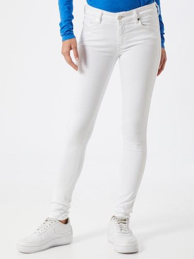 DIESEL Jeans 'SLANDY' in weiß, Modelansicht