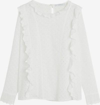 VIOLETA by Mango Bluzka w kolorze nakrapiany białym, Podgląd produktu
