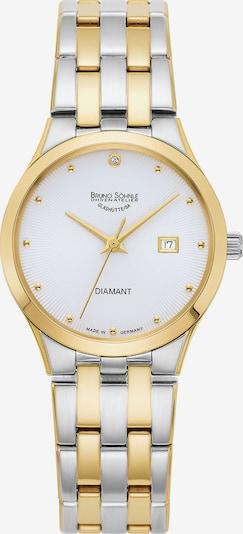 Bruno Söhnle Uhr 'Florenz 17-23197-252' in gold / silber / weiß, Produktansicht