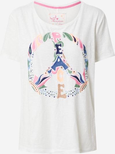 Marškinėliai iš LIEBLINGSSTÜCK , spalva - balta, Prekių apžvalga