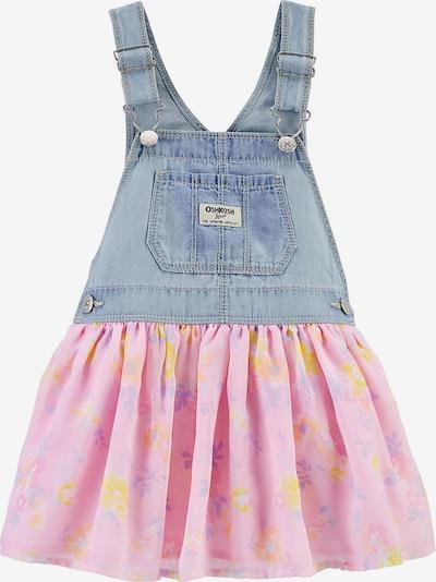 OshKosh Kleid in blue denim / mischfarben / pink, Produktansicht