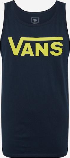 Tricou VANS pe galben / negru, Vizualizare produs