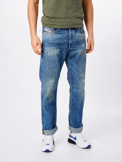 DIESEL Jeans 'D-MACS' in blue denim, Modelansicht