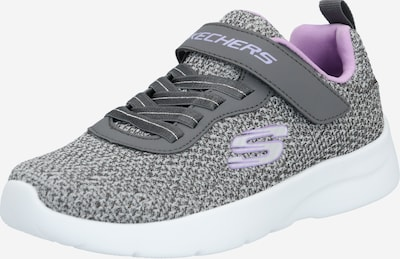 SKECHERS Baskets 'Dynamight 2.0-Lite Dasher' en gris chiné / lavande, Vue avec produit