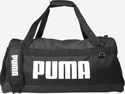 PUMA Sporttasche 'Challenger' in schwarz / weiß, Produktansicht
