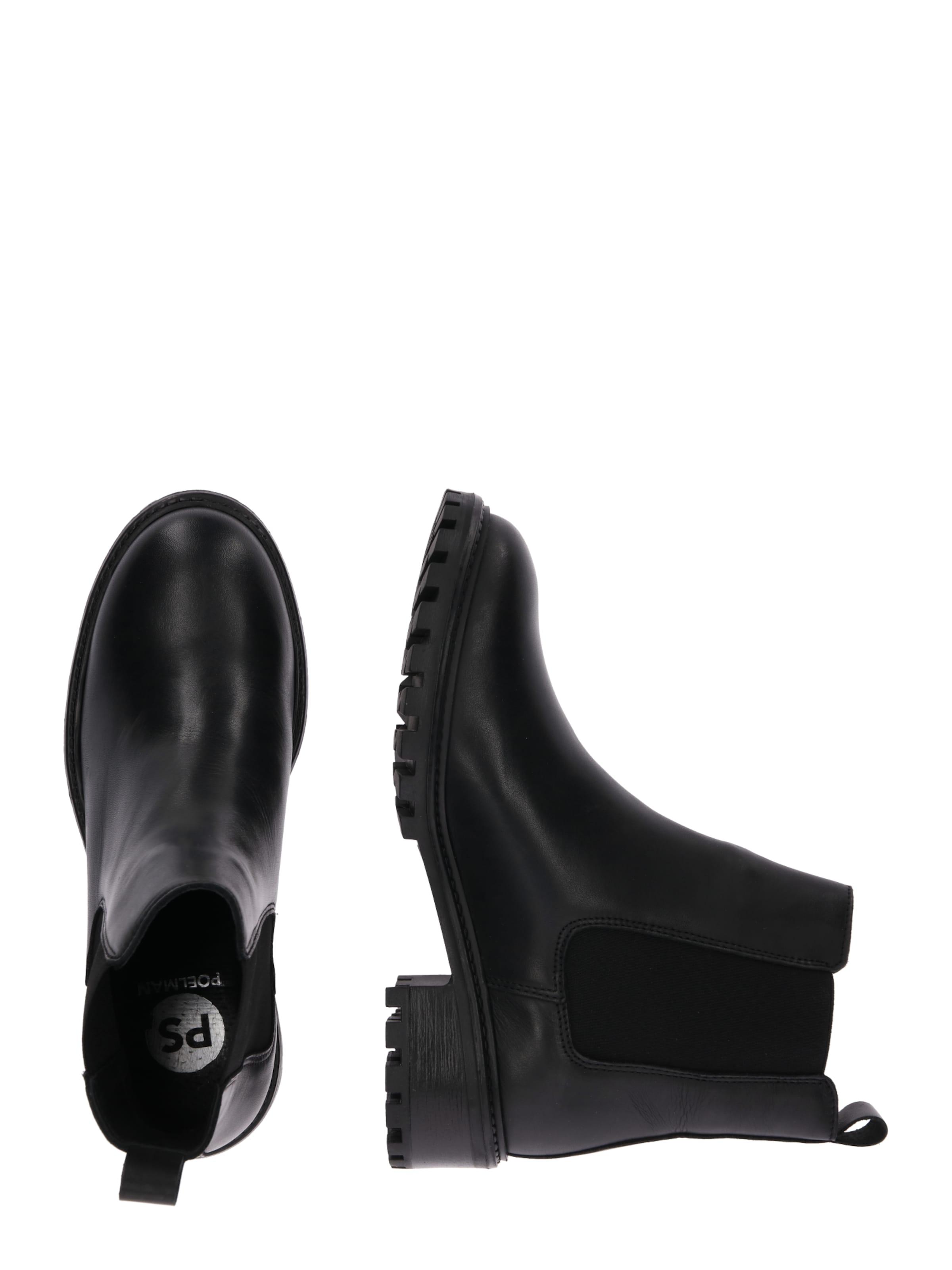 Ps En Boots 'chelsea' Chelsea Noir Poelman 54j3ALqR