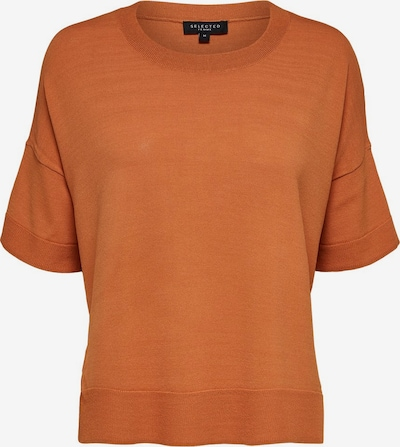 SELECTED FEMME Shirt in orange, Produktansicht