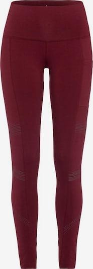 Sportinės kelnės iš LASCANA ACTIVE , spalva - rubinų raudona, Prekių apžvalga