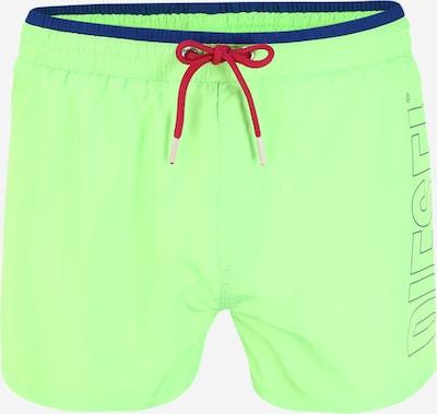 DIESEL Kratke kopalne hlače 'Sandy' | neonsko zelena barva, Prikaz izdelka