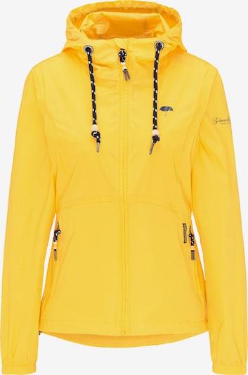 Schmuddelwedda Regenjacke in gelb, Produktansicht