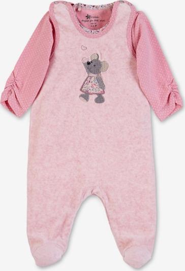 STERNTALER Set 'Nicki Mabel' in graumeliert / rosa / hellpink / weiß, Produktansicht