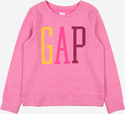 GAP Sweatshirt in gelb / pitaya / neonpink, Produktansicht