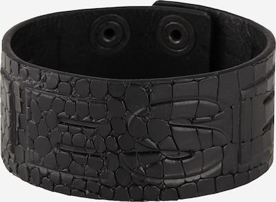 DIESEL Bracelet 'A-Crocle' en noir, Vue avec produit