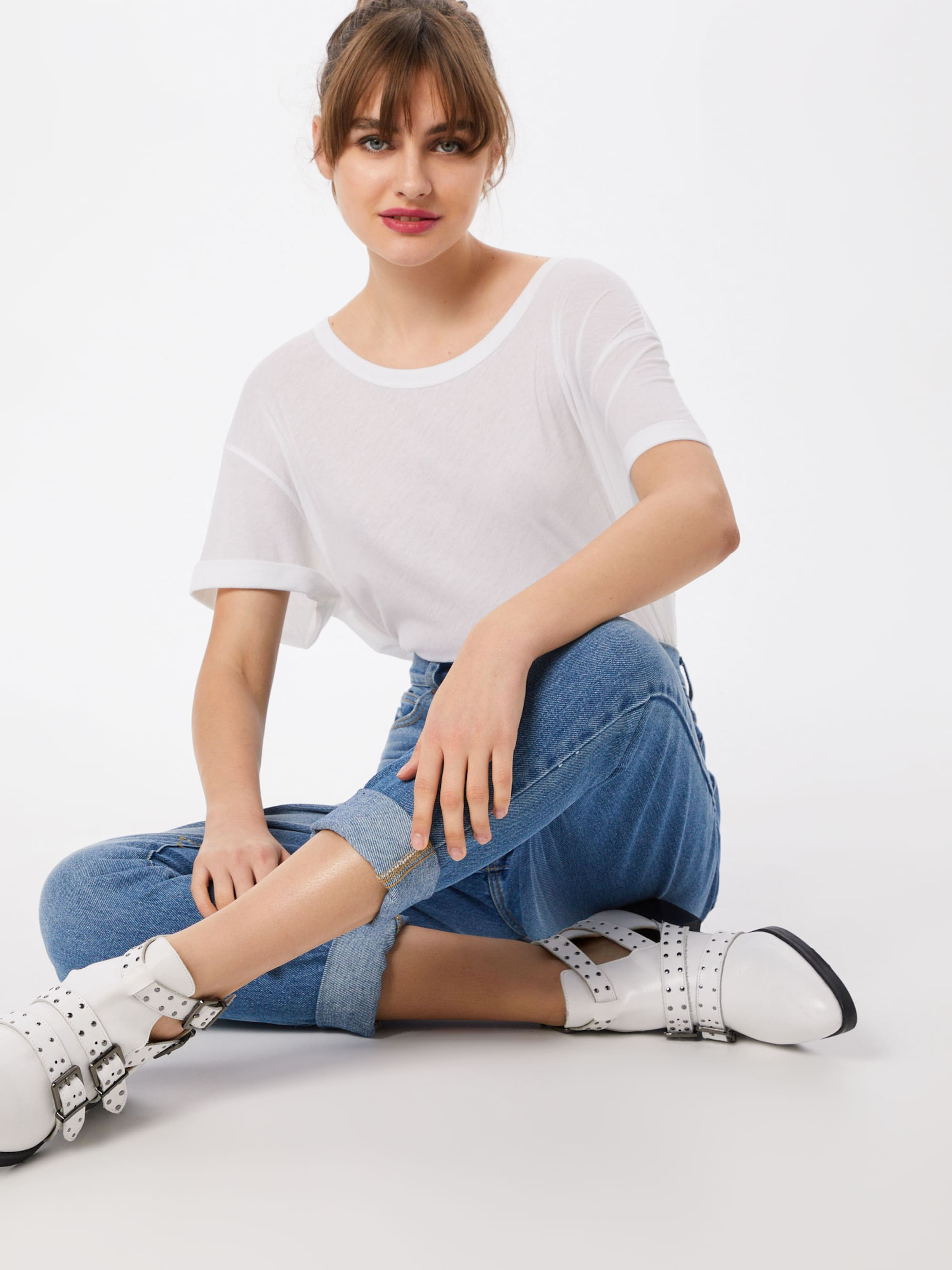 Oversize Drykorn shirt 'larima' En Blanc T xWrCQBoed