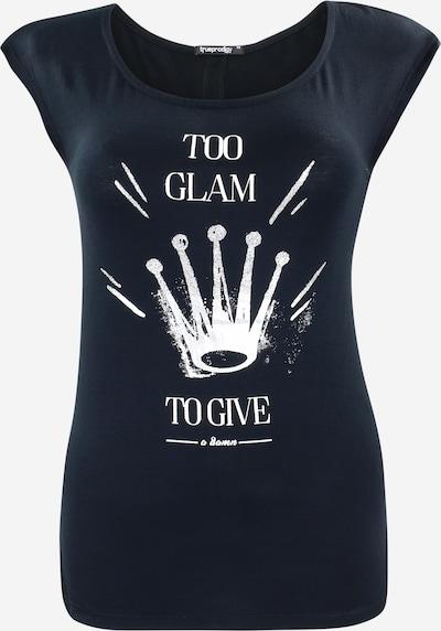 trueprodigy T-Shirt in schwarz / weiß, Produktansicht