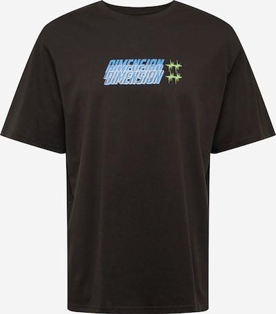 Urban Threads T-Shirt en mélange de couleurs / noir, Vue avec produit