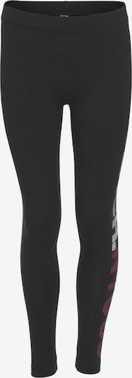 BENCH Leggings in marine / rot / weiß: Frontalansicht