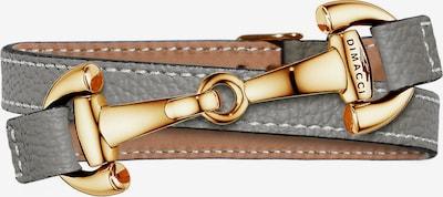 Dimacci Armband in gold / grau, Produktansicht
