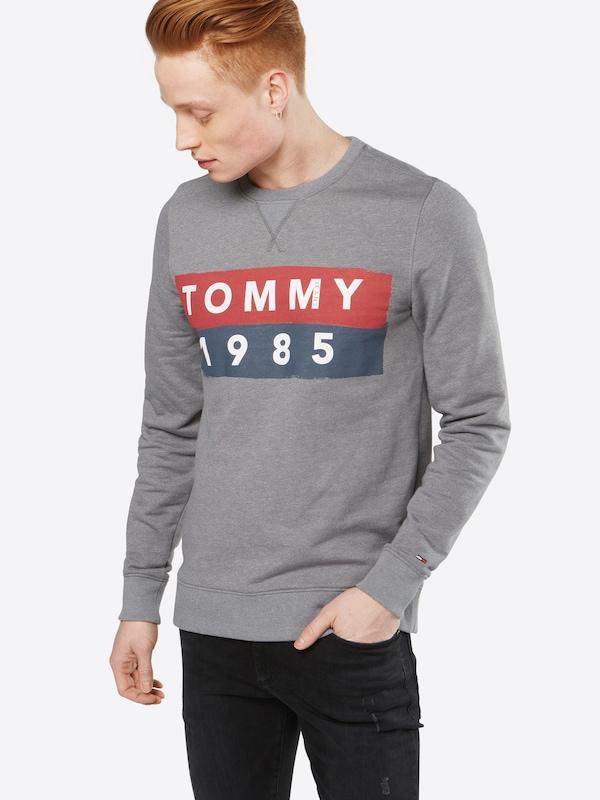 Tommy Jeans Pullover 'TJM BASIC LOGO CN HKNIT L/S 11'
