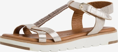 TAMARIS Remienkové sandále - zlatá, Produkt