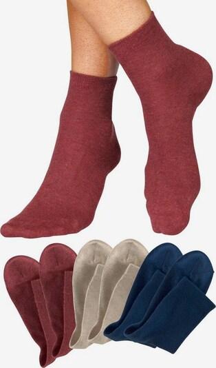 HIS JEANS Socken in rot, Produktansicht