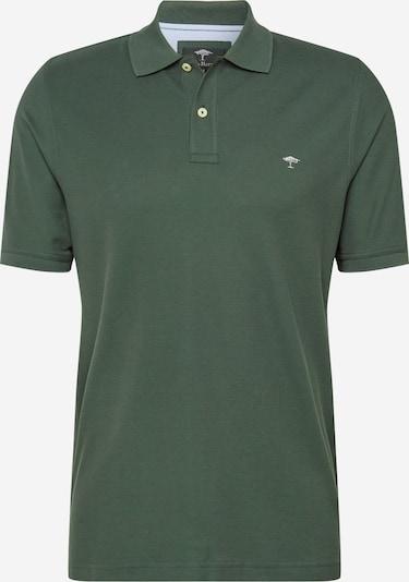 FYNCH-HATTON T-Shirt in dunkelgrün / weiß, Produktansicht