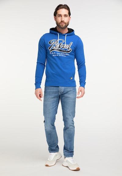Petrol Industries Sweatshirt in blau: Frontalansicht