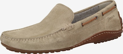 SIOUX Mokassin 'Callimo' in hellbeige: Frontalansicht