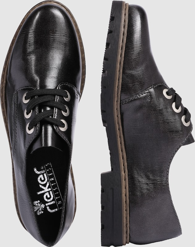 RIEKER Schnürschuh Verschleißfeste billige Schuhe Hohe Qualität