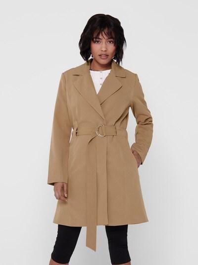 JACQUELINE de YONG Trenchcoat in beige, Modelansicht