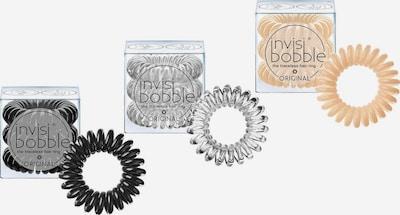 Invisibobble Spiral-Haargummi in nude / schwarz / transparent, Produktansicht