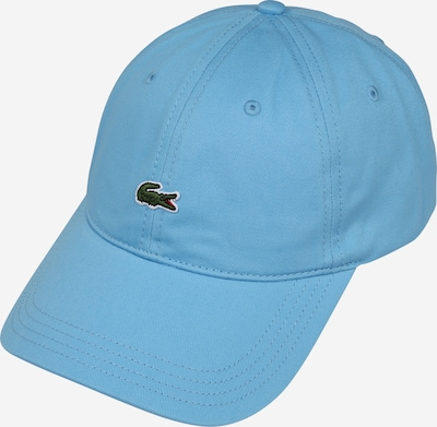 Șapcă LACOSTE pe albastru deschis, Vizualizare produs