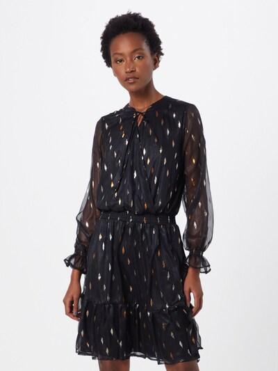 SISTERS POINT Kleid 'VUA-DR' in gold / schwarz, Modelansicht