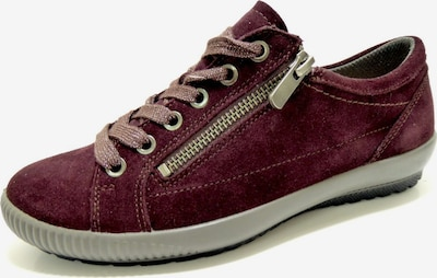 Legero Sneaker in weinrot: Frontalansicht