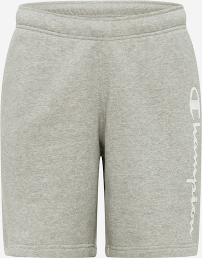 Champion Authentic Athletic Apparel Pantalon en gris / blanc, Vue avec produit