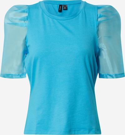Vero Moda Petite Blouse 'VMPANDA' in de kleur Blauw / Lichtblauw, Productweergave