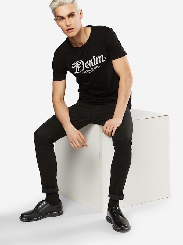 TOM TAILOR DENIM T-Shirt 'NOS crewneck tee with print'