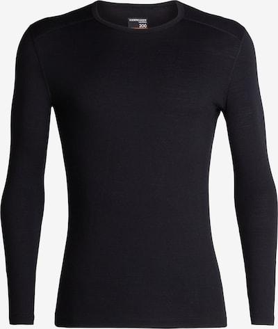 ICEBREAKER Koszulka funkcyjna '200 Oasis' w kolorze czarnym, Podgląd produktu